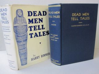 Dead Men Tell Tales; Volume Four. Harry Rimmer