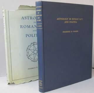 Astrology in Roman Law and Politics. Frederick H. Cramer