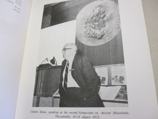 Ancient Macedonian Studies in Honor of Charles F. Edson.