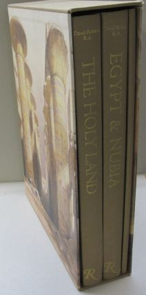 Holy Land And Egypt & Nubia; Three volumes. David Roberts