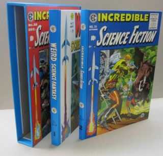 Weird Science-Fantasy Volume 1 *& Incredible Science Fiction Volume 2.