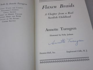 Flaxen Braids; A Chapter From a Real Swedish Childhood