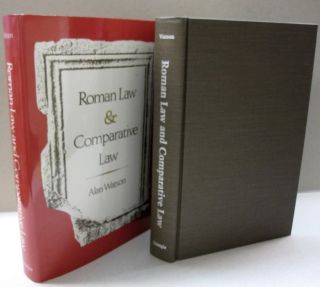 Roman Law and Comparative Law. Alan Watson