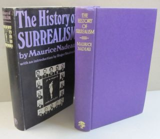The History of Surrealism. Maurice Nadeau.