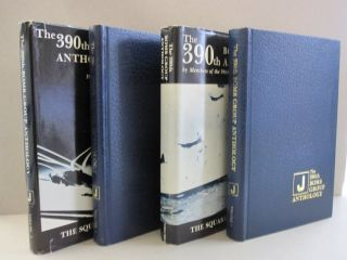 The 390th Bomb Group Anthology; Two Volumes. Richard H. Perry Wilbert H. Richarz, William J....