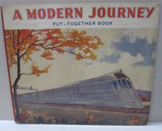 A Modern Journey Put-Together Book