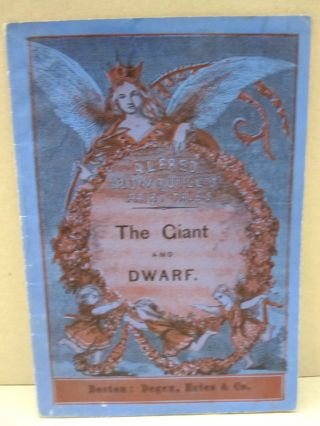 The Giant and the Dwarf. Alfred Crowquills
