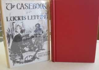 The Casebook of Luckis Leffing. Joseph Payne Brennan