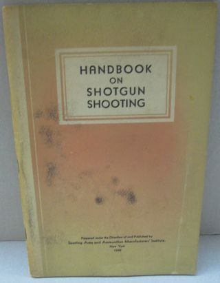 Handbook on Shotgun Shooting