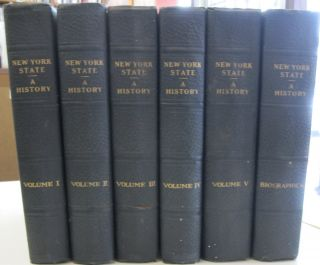 History of New York State 1523-1927; SIX VOLUME SET. Dr. James Sullivan