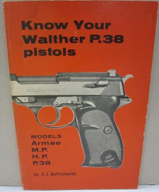 Know Your Walther P.38 Pistols. E. J. Hoffschmidt