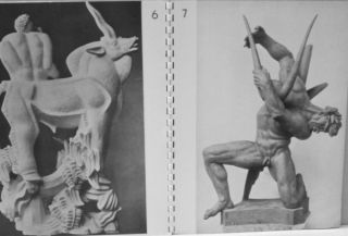 Sculpture and Carl Milles.