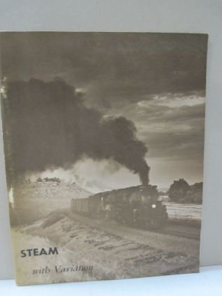 Steam with Variation. Richard F. Lind