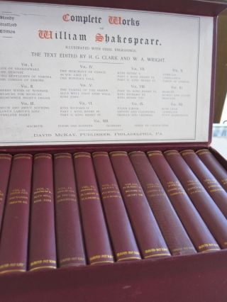 Complete Works of William Shakespeare; 13 VOLUME SET