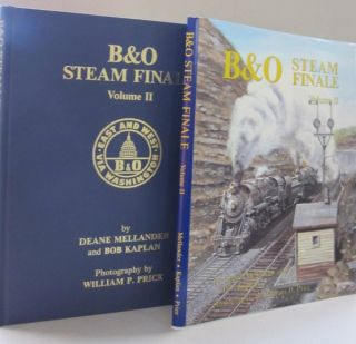 B & O Steam Finale; VOLUME 1 AND VOLUME 2