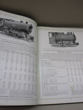 Porter Steam Locomotives Light & Heavy; Twelfth Edition Steam Catalogue and Cable Correspondence Code