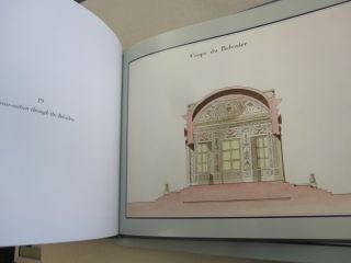 Views and Plans of the Petit Trianon at Versailles.
