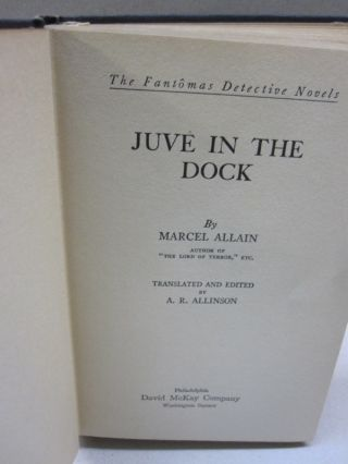 Juve in the Dock.