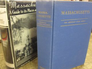 Massachusetts: A Guide to its places and People. WPA Federal Writers' Project