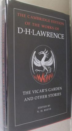 The Vicar's Garden and Other Stories (The Cambridge Edition of the Works of D. H. Lawrence). D....