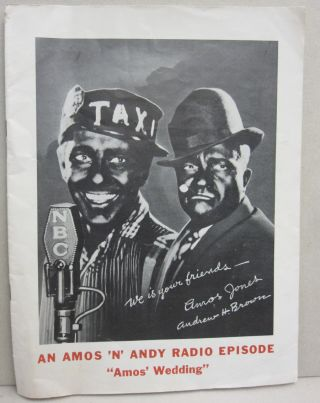 "An Amos 'N' Andy Radio Episode ""Amos' Wedding"" Amos 'N' Andy"