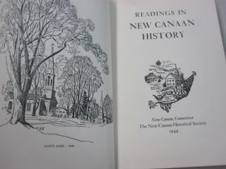 Readings in New Canaan History.