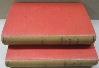 Peking and the Pekingese; During the First Year of the British Embassy at Peking. TWO VOLUME SET. D F. Rennie.