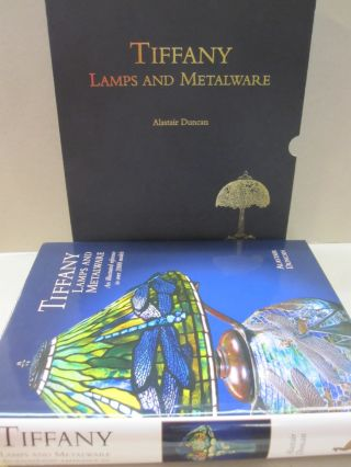Tiffany Lamps and Metalware An Illustrated Reference to Over 2000 Models.