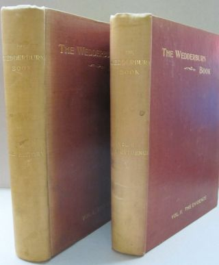 The Wedderburn Book, A History of the Wedderburns 2 volume set The History, The Evidence....
