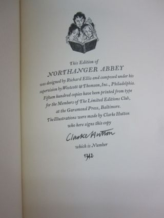 Northanger Abbey.