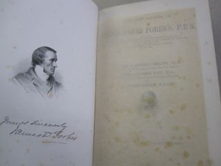 Life and Letters of James David Forbes, F.R.S.