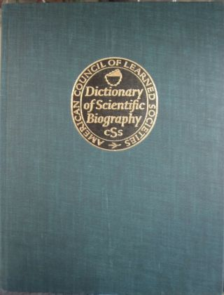 Dictionary of Scientific Biography 16 volume set.