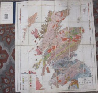 Geological Map of Scotland. Archibald Geikie