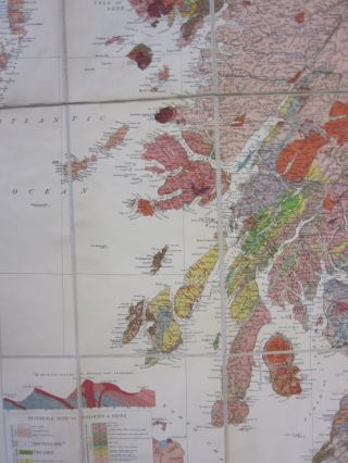 Geological Map of Scotland.