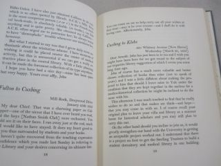 The Making of a Library; Extracts from Letters 1934-1941 of Harvey Cushing Arnold C. Klebs John F. Fulton
