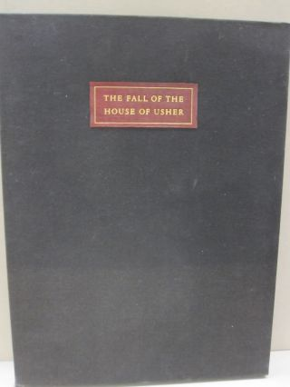The Fall of the House of Usher. Edgar Allan Poe