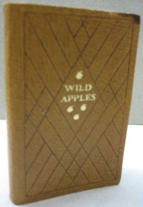 Wild Apples; History of the Apple Tree. Henry David Thoreau