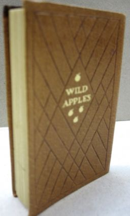 Wild Apples; History of the Apple Tree