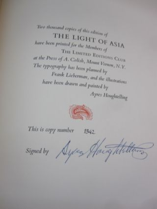The Light of Asia; Being the Life and Teaching of Gautama Prince of Indian and Founder of Buddism