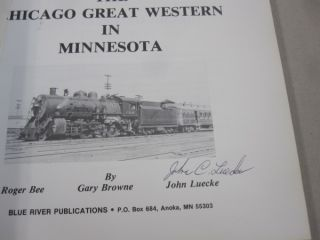 The Chicago Great Western in Minnesota.