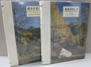Marble A Town Built on Dreams 2 volume set