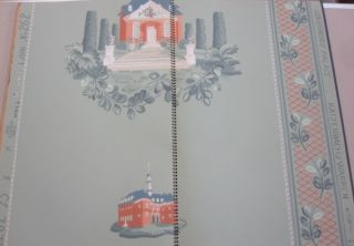 Approved Williamsburg Commemorative Paper Hangings; Volume 1