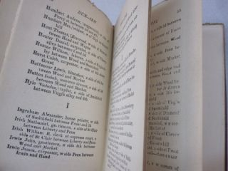 The Pittsburgh Directory for 1815, Containing the Names, Professions and Residence of the heads of Families and Persons in Business in the Borough of Pittsburgh, with an Appendix containing a variety of useful information.