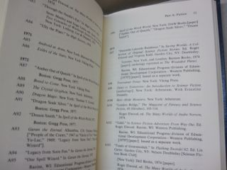 Andre Norton, a Primary and Secondary Bibliography (Masters of Science Fiction and Fantasy).