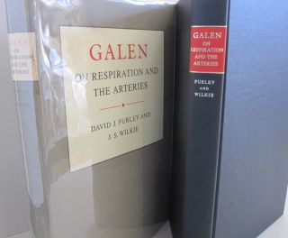 Galen On Respiration and the Arteries. David Furley, J. S. WilkieGalen
