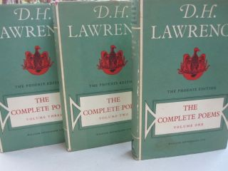 The Complete Poems; Three Volumes. D H. Lawrence