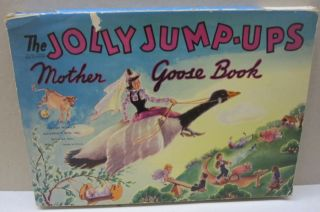 The Jolly Jump-Ups Mother Goose Book