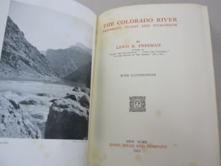 The Colorado River ; Yesterday, Today and Tomorrow