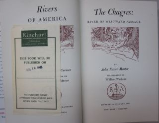The Chagres; River of Westward Passage