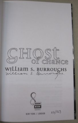 Ghost of a Chance.